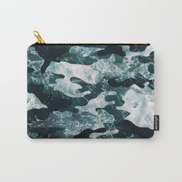 Surfing Camouflage #2 Carry-All Pouch
