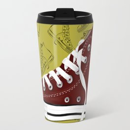Respect My Kicks! Travel Mug
