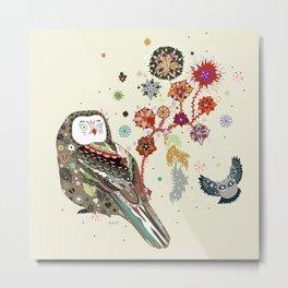 Owl wow Metal Print