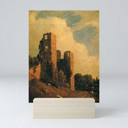 Sanford Robinson Gifford - Kenilworth Castle Mini Art Print