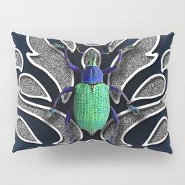 GREEN BEETLE Pillow Sham