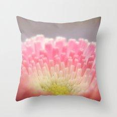 Winter flower. Throw Pillow