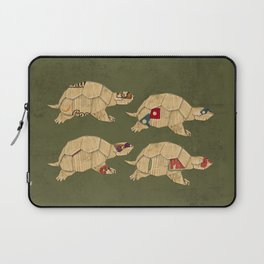 Heroes in a pizza box... Turtle Power! Laptop Sleeve