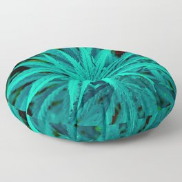 Twisted Frosty Weed Floor Pillow
