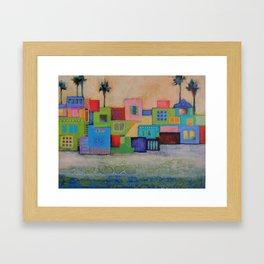 Beachy Keen Framed Art Print