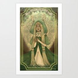 Ladies of Tarot - The Hermit Art Print