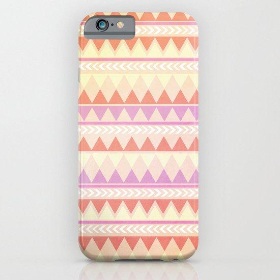 Summer Aztec Pattern iPhone & iPod Case