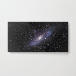 Galaxy Andromeda Metal Print