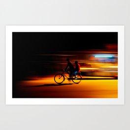 Midnight Kigali Art Print