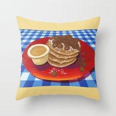 Pancakes Week 4 Throw Pillow