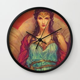 MEME 019 DIANA PRINCE Wall Clock