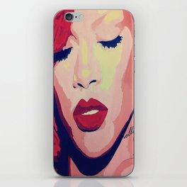 Rihanna Painting iPhone Skin