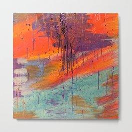 No. 10 Abstract  Metal Print