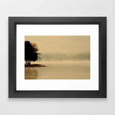 Haunted Dawn Framed Art Print