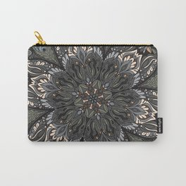 Floral Ornament Carry-All Pouch