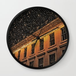 Lights at Night Wall Clock