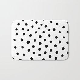Painted Dots Bath Mat