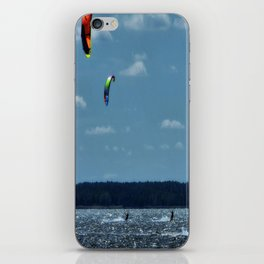 KITE~Party of 3 iPhone Skin