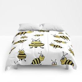 Golden Bees Comforters