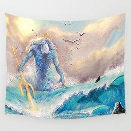 Poseidon Wall Tapestry