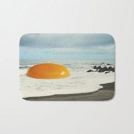 Beach Egg - Sunny side up Bath Mat