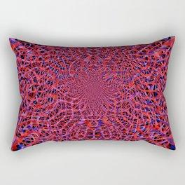 radial layers 9 Rectangular Pillow