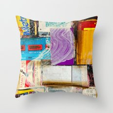 Ride#1 Throw Pillow