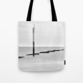 Groynes & Posts - Eastney, Portsmouth Tote Bag
