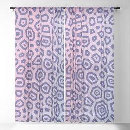Experimental pattern 15 Sheer Curtain
