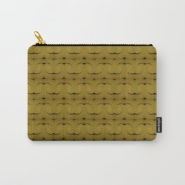 Ocre Lace Pattern Carry-All Pouch