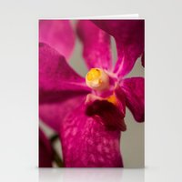orchid Stationery Cards featuring Orchid by Michelle McConnell