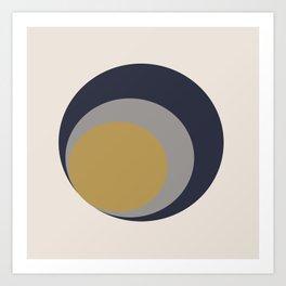 Inverted Circles Art Print