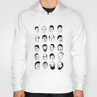 faces Hoodies featuring Faces by David Penela