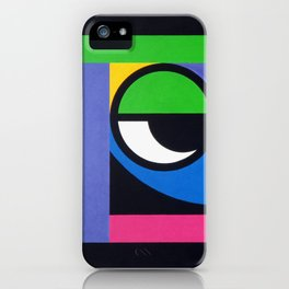 Curious Guy - Paint iPhone Case