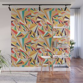 geometric fraction Wall Mural