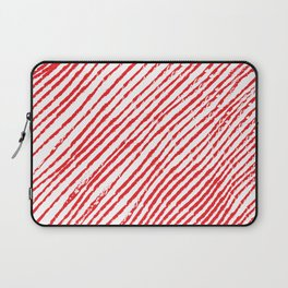 Candy Cane (The raw version) - Christmas Illustration Laptop Sleeve