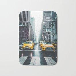 New York City Taxi Cabs Bath Mat