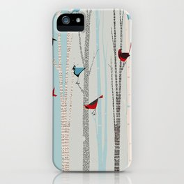 Winter Birds / 03 iPhone Case