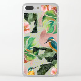 Bird Sanctuary Clear iPhone Case