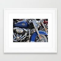 harley Framed Art Prints featuring Harley by Veronica Ventress