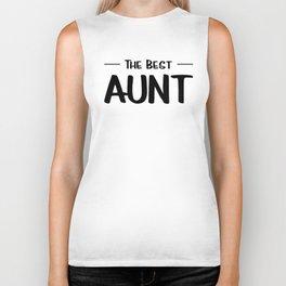 The Best Aunt Biker Tank