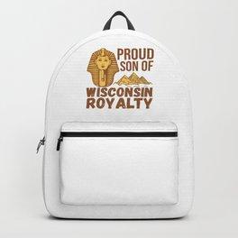 God Of Ancient for Descendent Wisconsin Backpack
