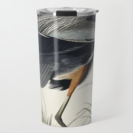 Great blue Heron from Birds of America (1827) by John James Audubon etched by William Home Lizars Travel Mug