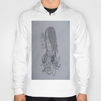 darren criss Hoodies featuring Criss Angel by TheArtOfFaithAsylum