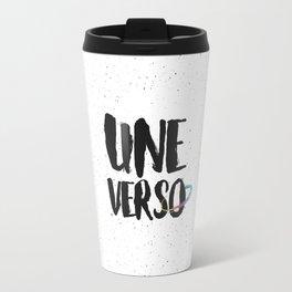 The beginning of the white universe Travel Mug