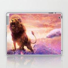 Roaring Space Lion Laptop & iPad Skin