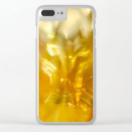 Viscous Honey Clear iPhone Case