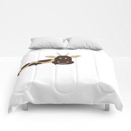 Joyful Giraffe Comforters