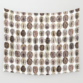 Vulva Diversity Vaginas Wall Tapestry