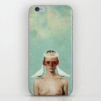 serenity iPhone & iPod Skins featuring Serenity by Seamless